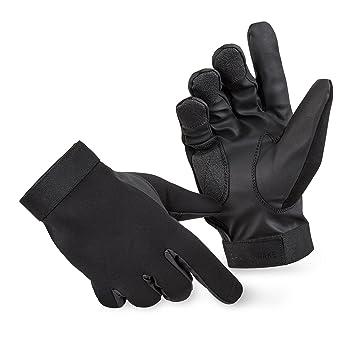 Blac ksnake® neopreno Guantes con protección kevlar contra cortes, negro