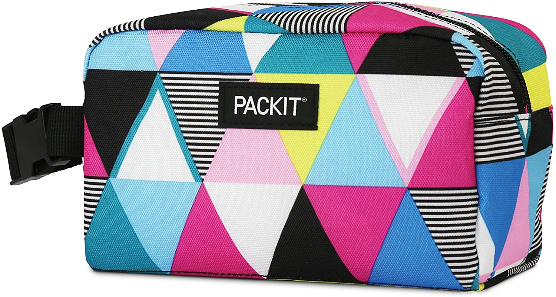 Packit AMZ-SX-TST Caja de aperitivos congelable, rayas triangulares, Exterior poliéster, Interior: 100% PEVA: Amazon.es: Hogar