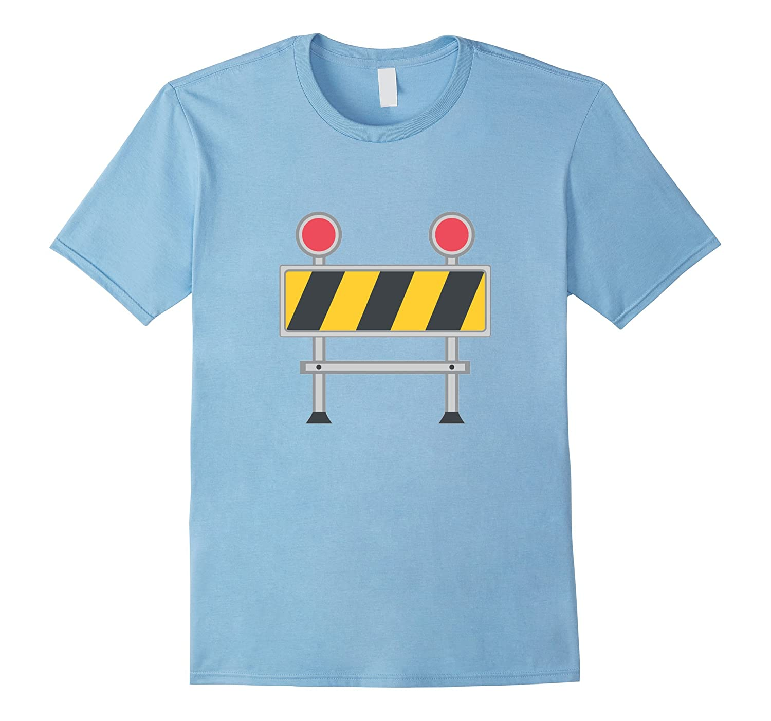 CONSTRUCTION WORKER Emoji T-Shirt Sign Symbol Road Work-CL