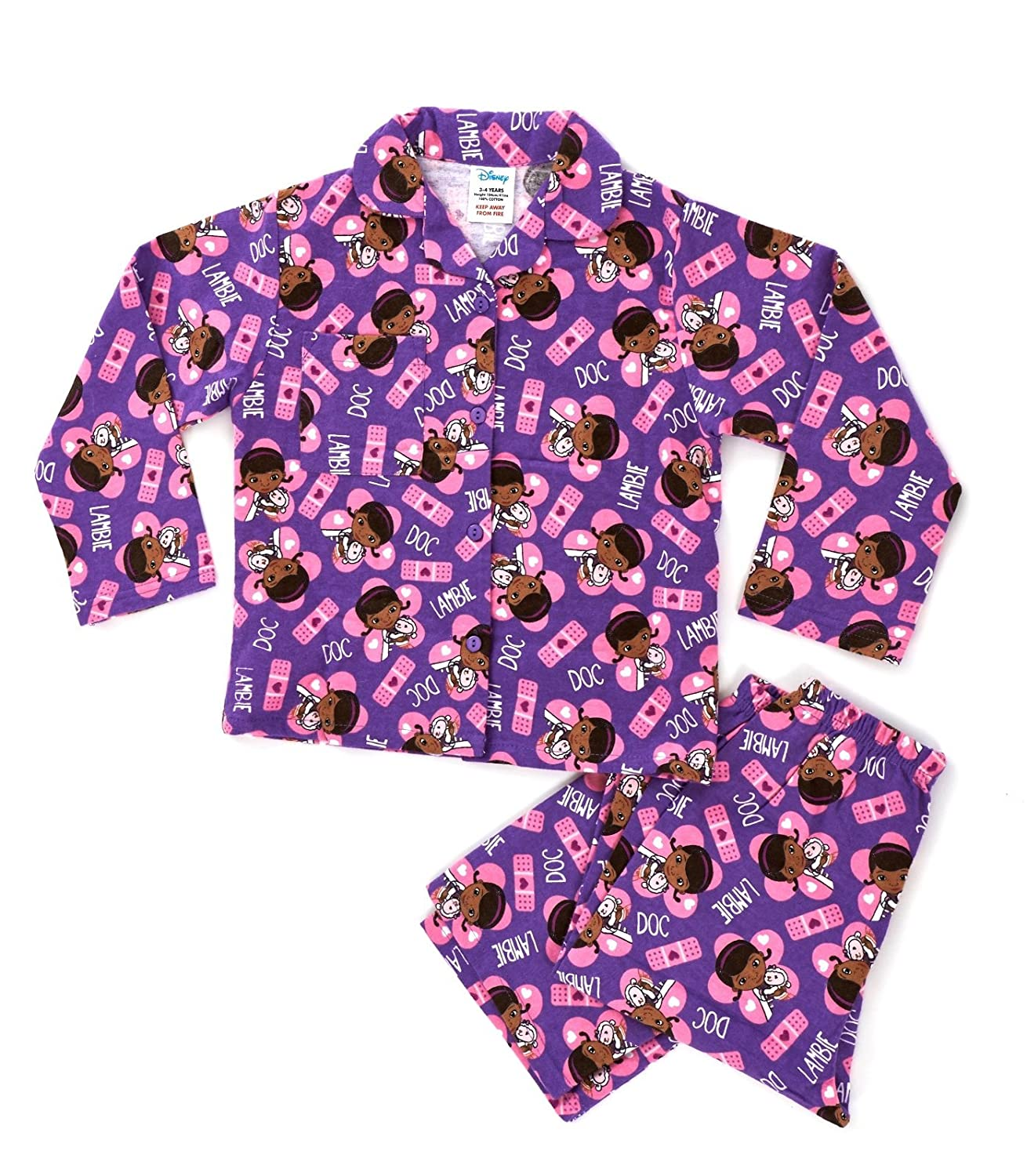 03b6ce1f5 Kids Girls Disney 100% Cotton Winceyette Flannel Fleece Warm Winter ...