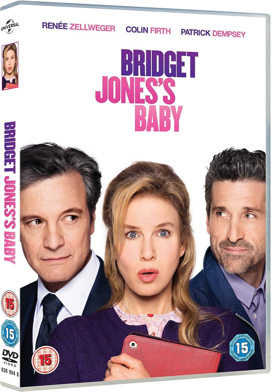 Bridget Jones S Baby Dvd 2016 Amazon Co Uk Renee Zellweger Colin Firth Patrick Dempsey Sharon Maguire Renee Zellweger Colin Firth Dvd Blu Ray