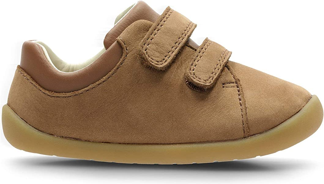 c1b00417983c8 Clarks Roamer Craft Toddler Leather Shoes in Tan Extra Wide Fit Size 3½:  Amazon.co.uk: Shoes & Bags