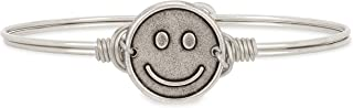 product image for Luca + Danni   Be Happy Bangle Bracelet For Women Made in USA