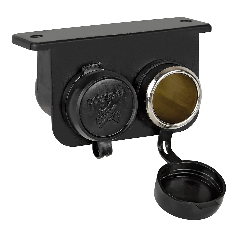 Lampa 39029 Dual Cigar Socket 12//24 V EXT4