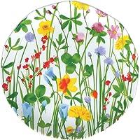 PORCELLANA Ensaladera de Porcelana Flores (20cm, Porcelana, Blanco