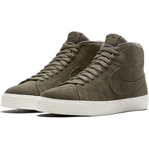 super popular 8336b c6443 NIKE Men s SB Zoom Blazer Mid Decon RidgeRock Black Skate Shoe Men ...