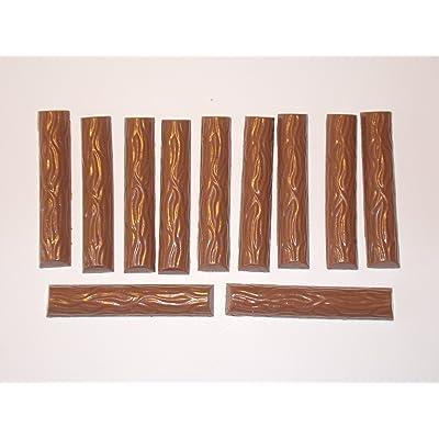 11chocolat, chocolat Food Dummy Barres en plastique–attrappen alimentaire 2ème choix pour la décoration, imitation de Scène Théâtre Requisite, décoration et le