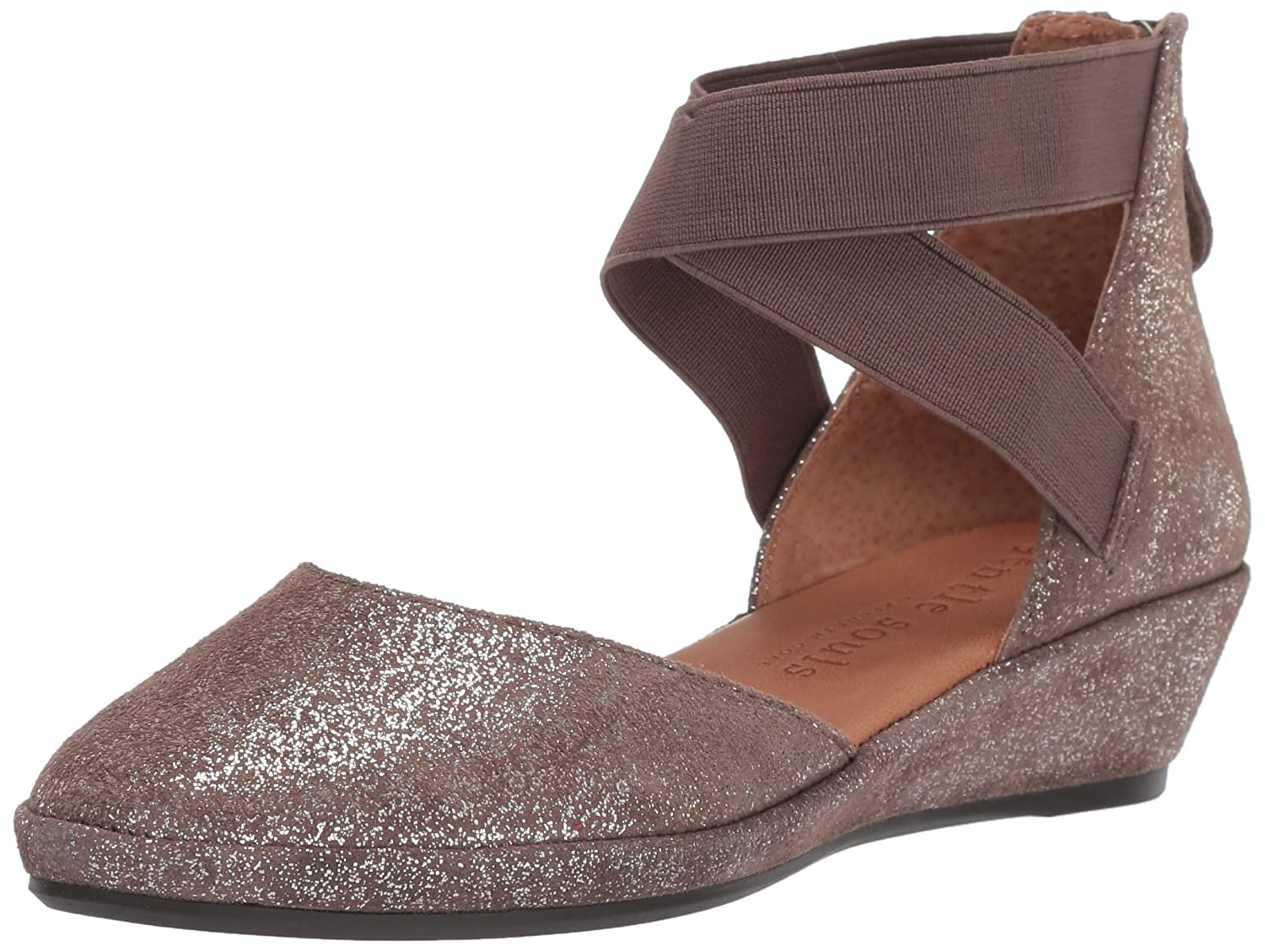 Cocoa Gentle Souls Women's Noa Wedge with Anklestrap Platform