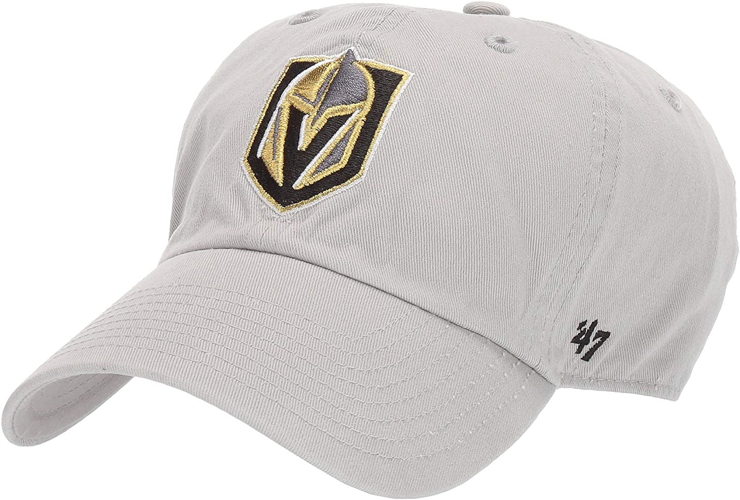 '47 NHL Vegas Golden Knights Clean Up Gray One Size