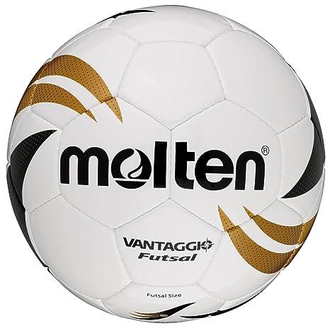 MOLTEN VGI-390 - Balón de fútbol sala, color blanco, dorado y ...