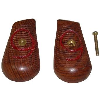 amazon モーゼルc96レッド9 broomhandleピストルグリップ 木製ドイツ