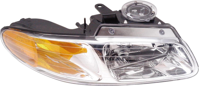 Dodge Plymouth Models Dorman 1590421 Passenger Side Headlight Assembly For Select Chrysler
