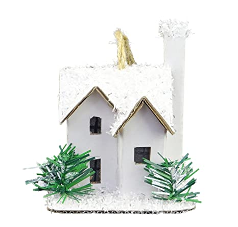 Decorazioni Natalizie Di Cartone.Christmas Concepts 10cm 4 Led Light Up Cartone Appeso
