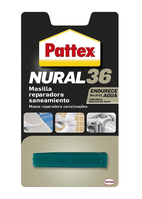 Pattex Nural 36, masilla reparadora saneamiento, sin disolventes, blanco, 48gr Henkel 1842188