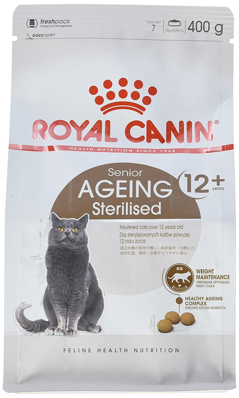 Royal Canin Comida para gatos Sterilised +12 400 Gr: Amazon.es: Productos para mascotas