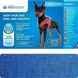 Aqua Coolkeeper – Arnés refrescante Comfy para Perro: Amazon.es ...