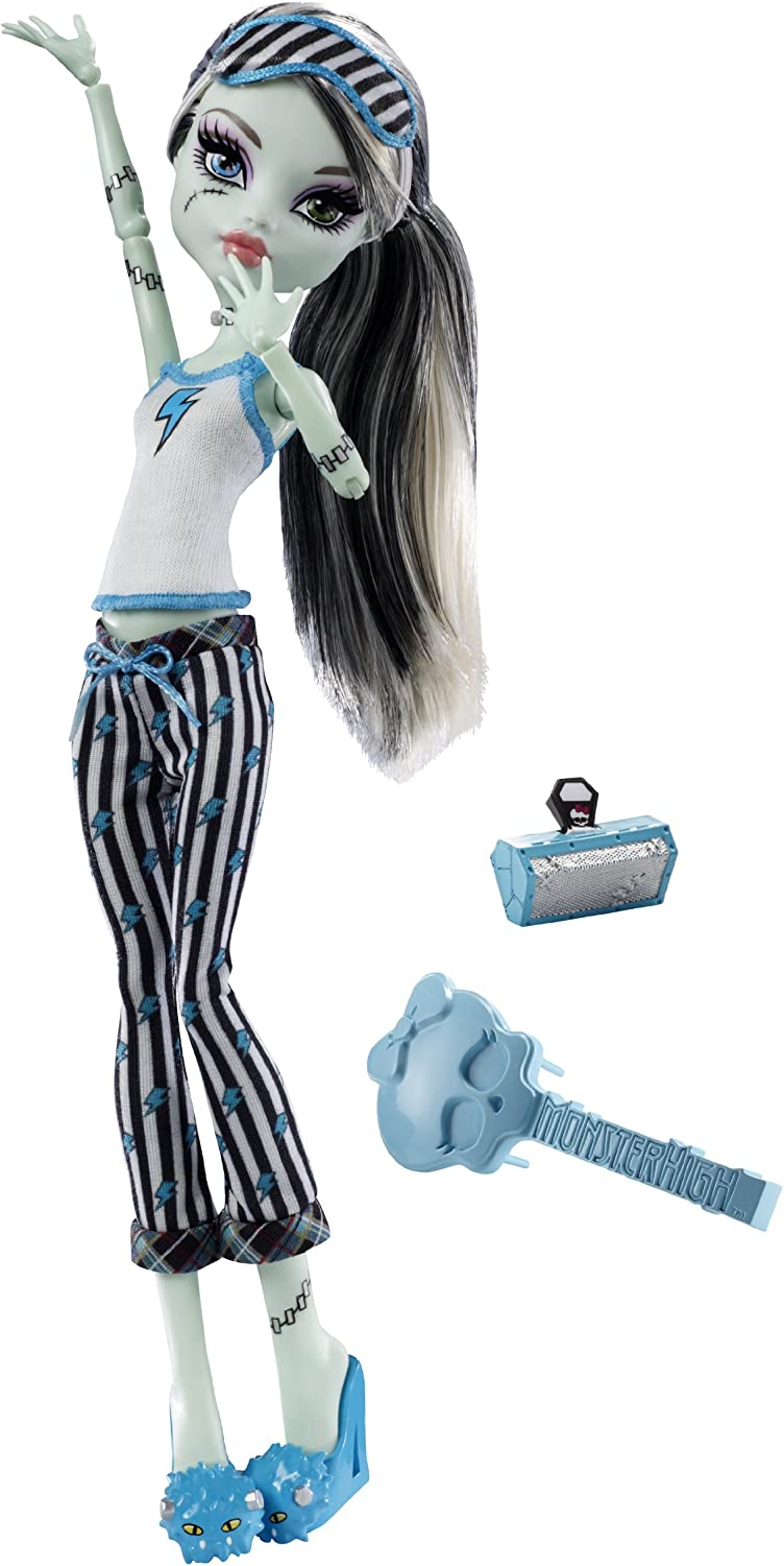 Amazon Com Monster High Dead Tired Frankie Stein Doll Toys Games