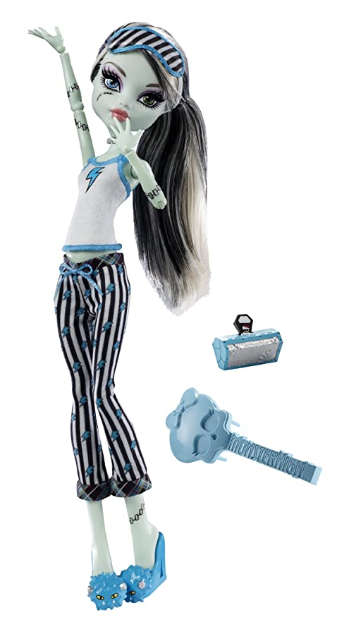 Monster High V7975 Pyjamapuppe Frankie Stein Amazonde Spielzeug
