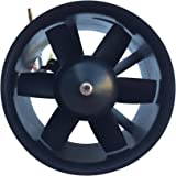 90mm Duct Fan with 1750KV Brushless Outrunner Motor for RC EDF Jet AirPlane US