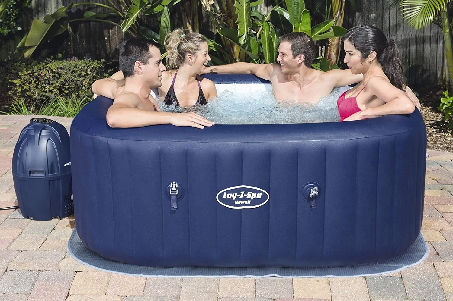 Bestway Lay-Z-Spa Hawaii für 4 bis 6 Personen