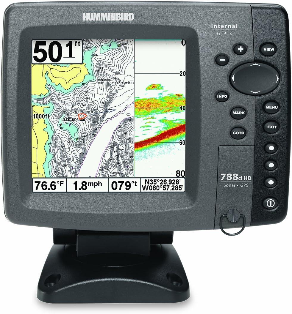 Humminbird 788cxi HD Combo GPS - Sonda/Contador de Metros de Pesca ...