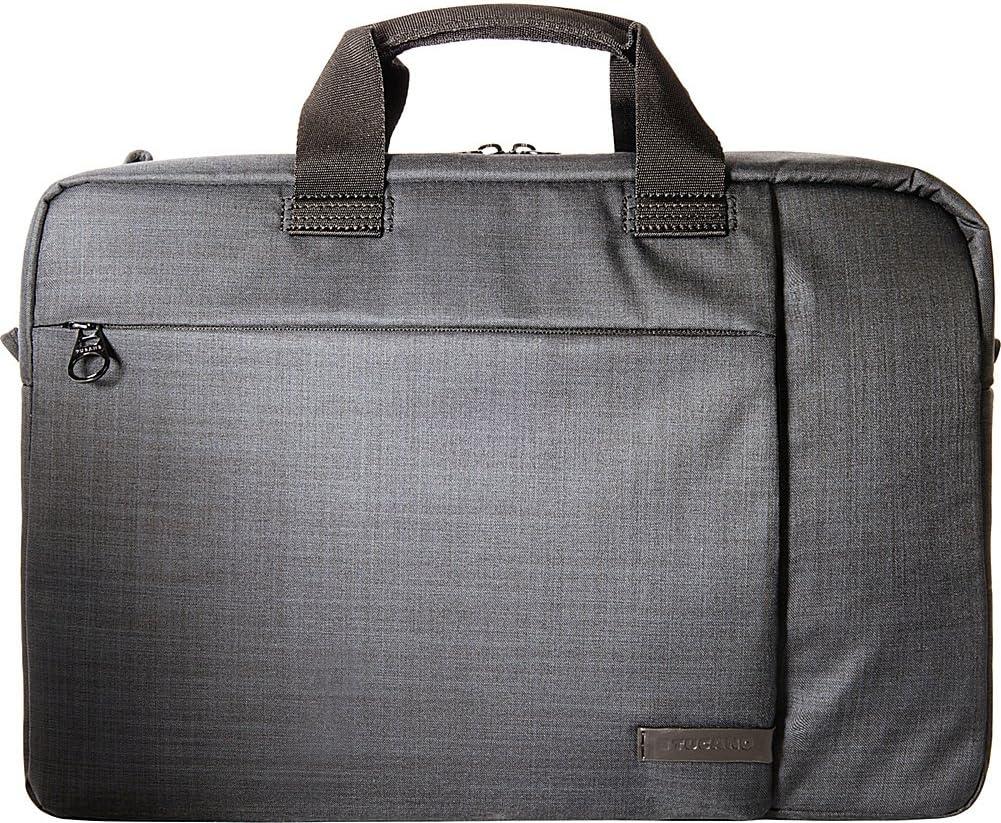 """Tucano Svolta Double Convertible Bag 15.6"""" Laptop Case (Black)"""