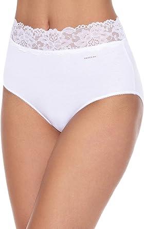 Princesa Pack x 6 Braguitas Blanco: Amazon.es: Ropa y accesorios