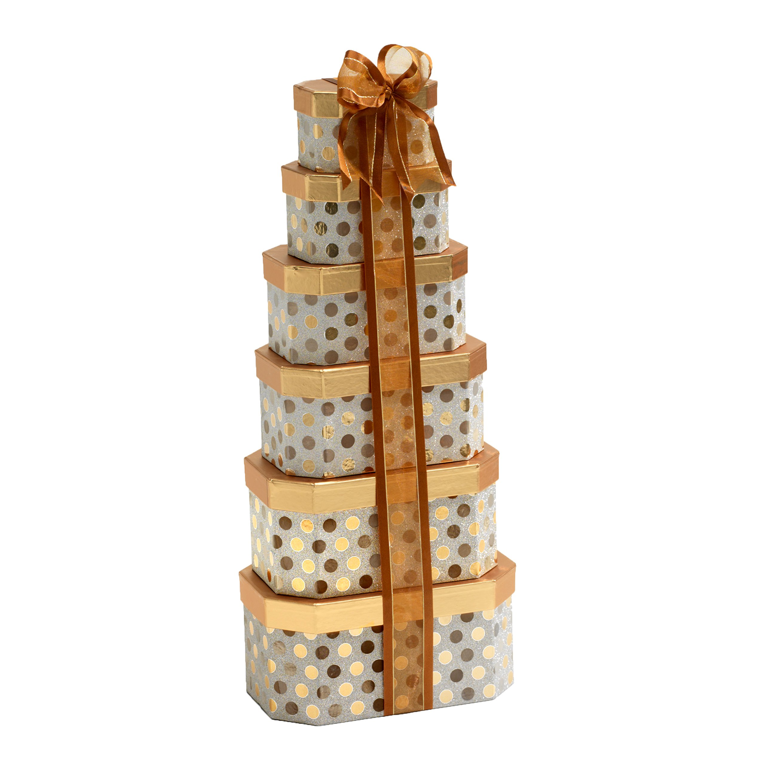 Broadway Basketeers Thinking of You Gift Tower with an Assortment of Gourmet Chocolate, Snacks, Sweets, Cookies and Nuts by Broadway Basketeers (Image #2)