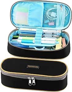 Estuche Escolar Homecube,Portalápices Plegable/Artículo de papelería Ideal para Estudiantes: Amazon.es: Oficina y papelería