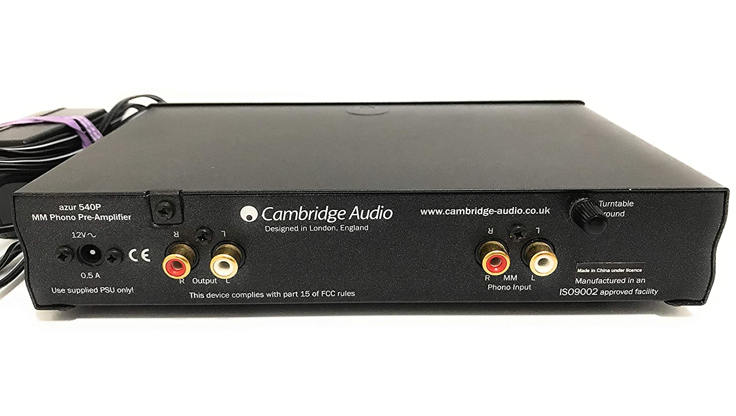 Cambridge Audio Azur 540p Mm Phono Preamplifier Silver Line Highend With Ics Electronics