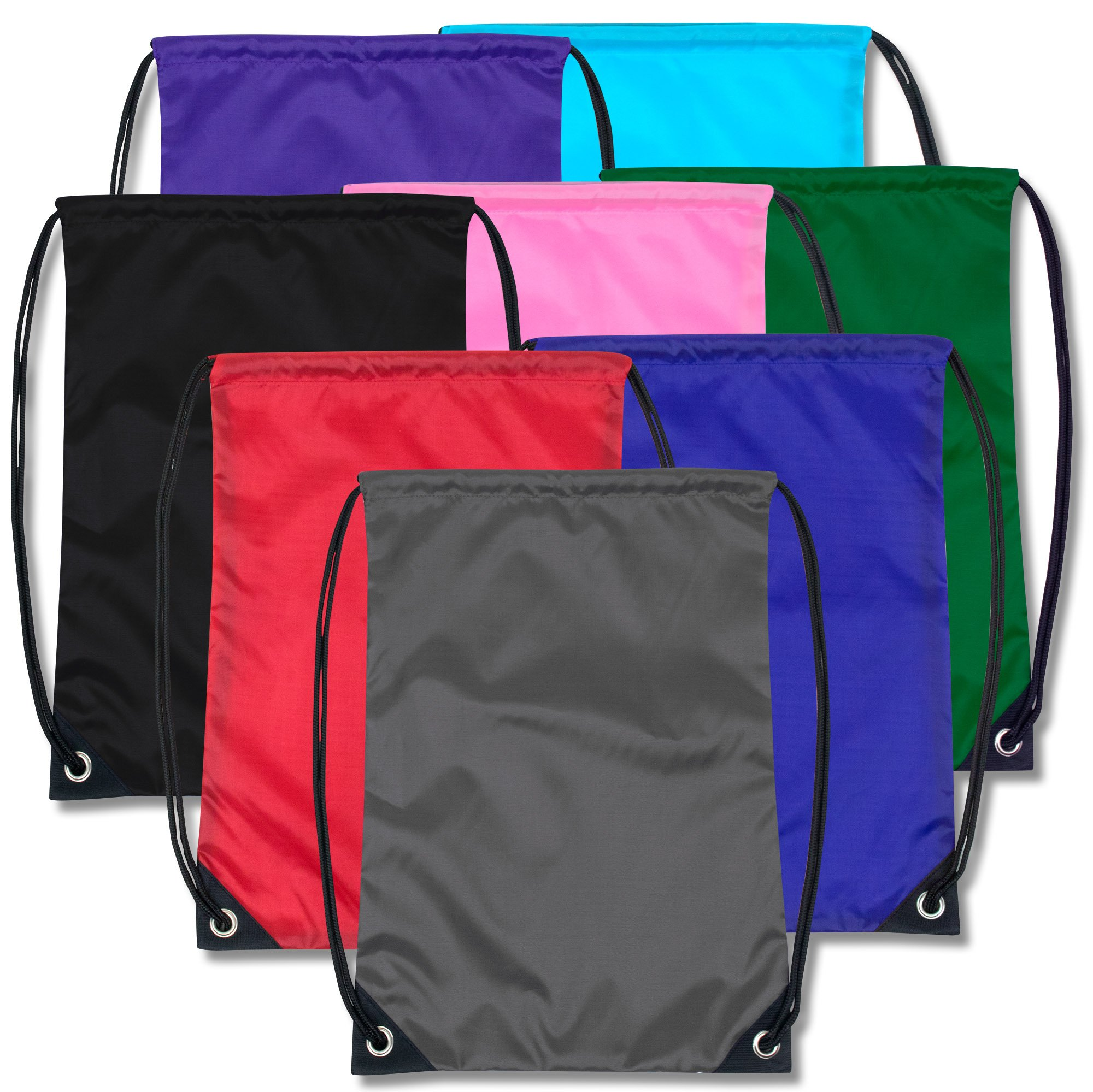 Drawstring Cinch Sack Bag Backpack Bulk Wholesale Case Pack Of 48