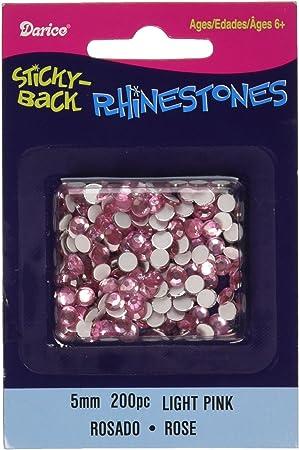Darice Sticky Rhinestone Crystal Back 5mm