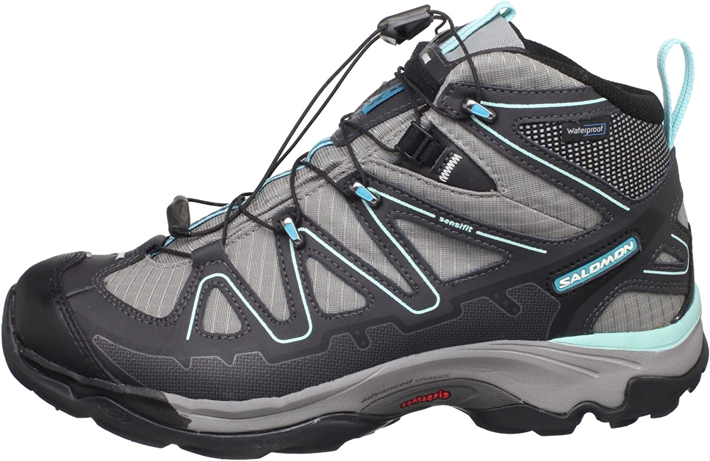 SALOMON Women's X Tiana Mid Waterproof Lite Hiking Shoe