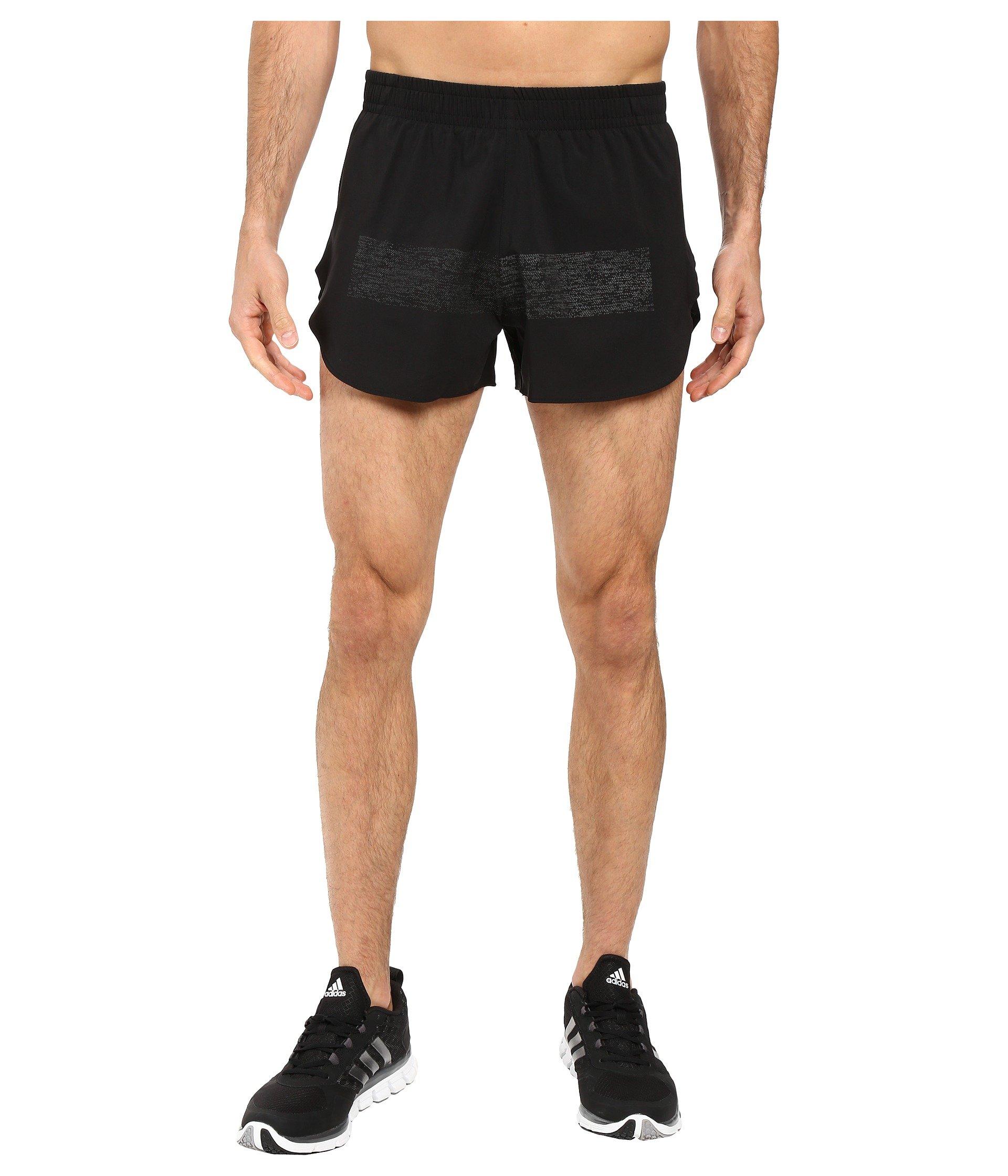 adidas Men's Supernova Climalite Running Shorts, Black, Small