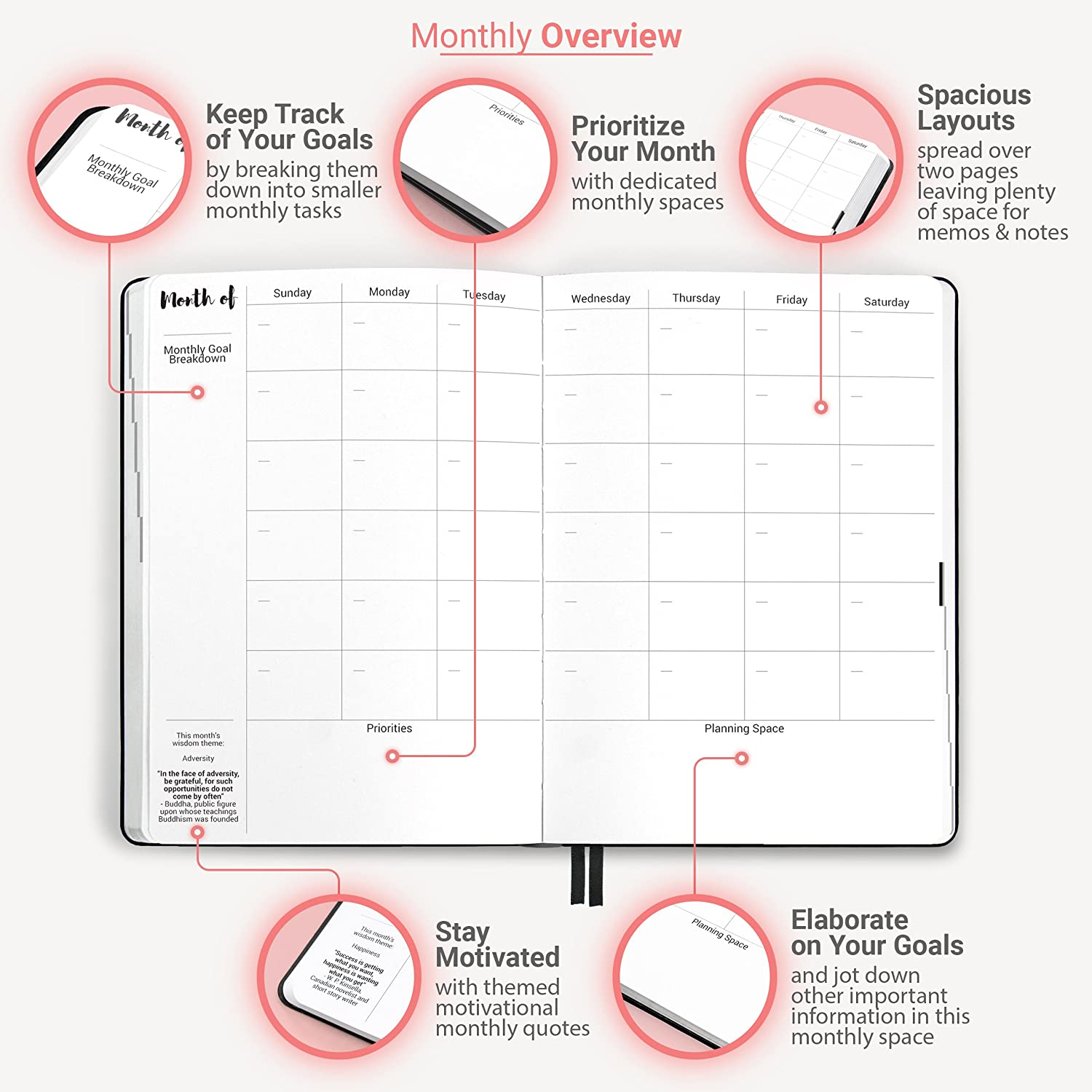 Amazon.com: Prettysweeeet Planner: Monthly Weekly Daily ...