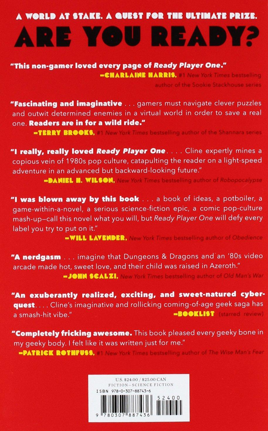 Ready Player One [Idioma Inglés]: Amazon.es: Cline, Ernest: Libros ...