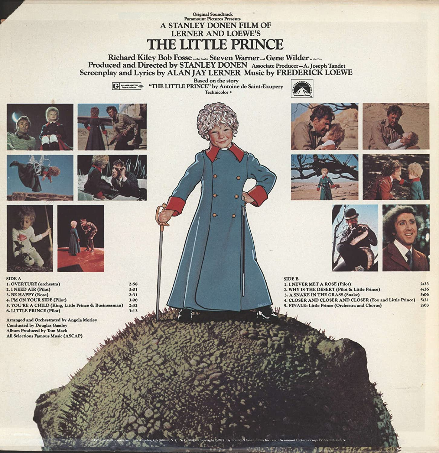 The Little Prince 1974 Fox