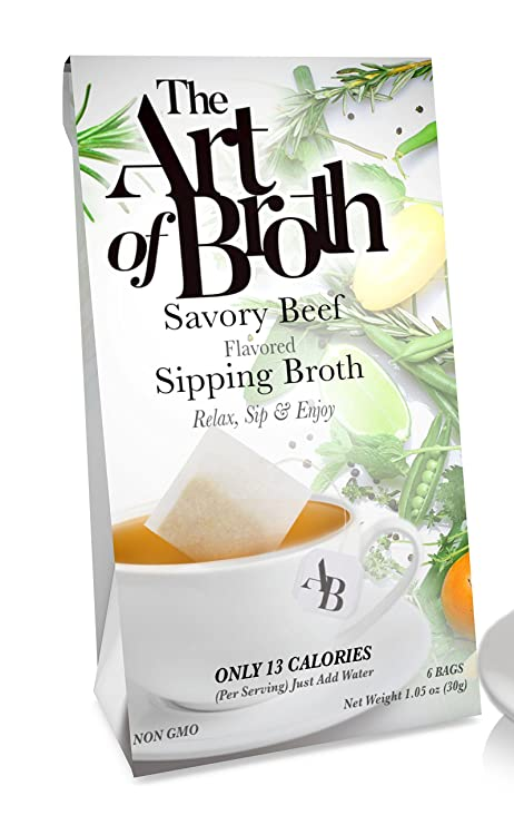 The Art of Broth Vegan Savory Beef Flavored Sipping Broth