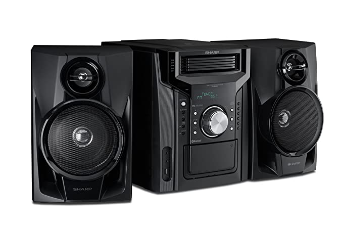 Review Sharp CD-BH950 240W 5-Disc
