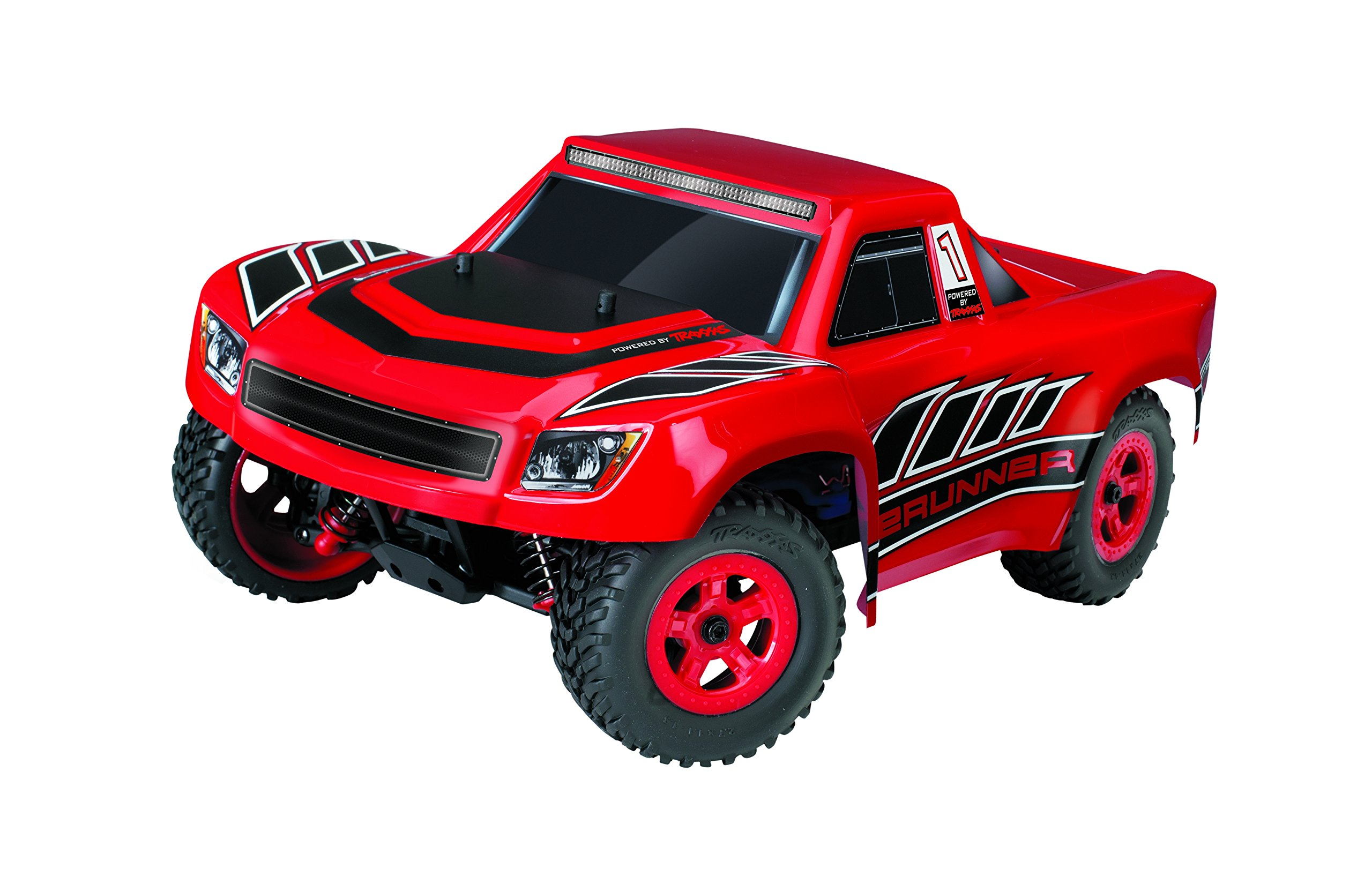Traxxas LaTrax Electric 4WD Desert Prerunner Remote Control Race Truck with 2.4GHz Radio (1/18 Scale), Red