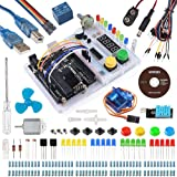 Smraza Ultimate UNO Project Starter Kit with Breadboard Holder,DC Motor and Detailed Tutorial for Arduino Uno R3 Mega2560 NANO
