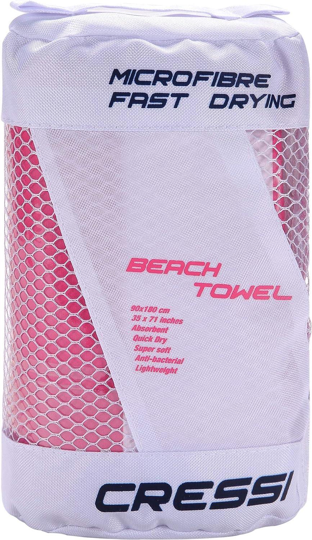 Cressi Microfibre Fast Drying Towel Mikrofaser Vom Strand Entfernt,Handtuch f/ür Meer