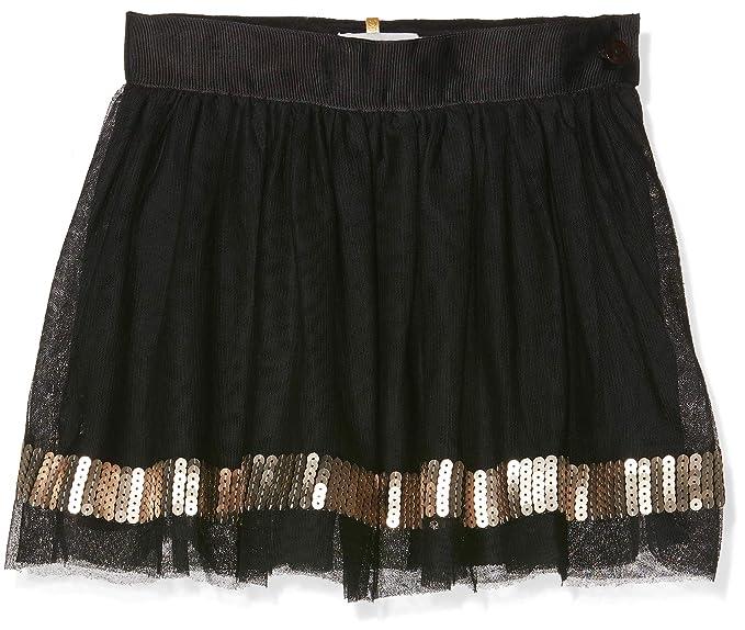 boboli Tulle Skirt For Girl, Falda para Niñas, (Negro 890), 3