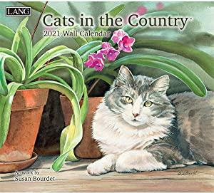 Lang Cats in The Country 2021 Wall Calendar (21991001899)