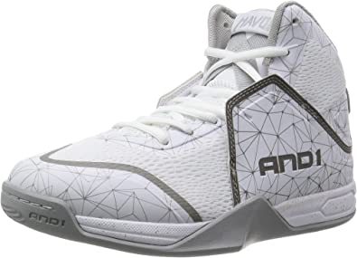 AND1 Havok Sneakers Silver;White Mens