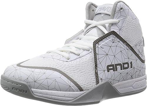 Amazon.com: AND 1 Havok-M Zapato de baloncesto para hombre ...