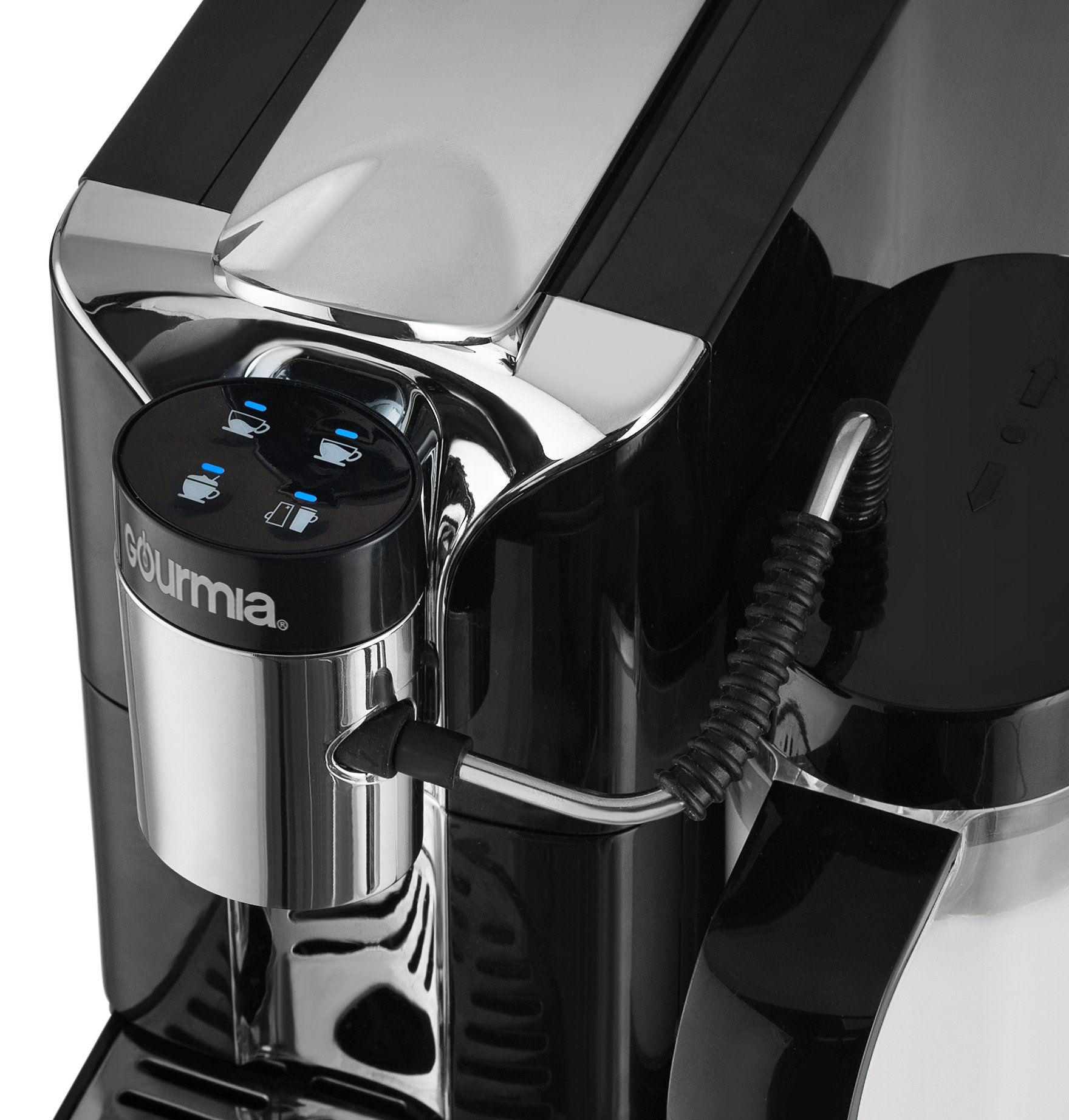 Gourmia GCM5500 - One Touch Automatic Espresso Cappuccino & Latte Maker Coffee Machine - Brew, Froth Milk, and Mix Into Cup with the Push of One Button- Nespresso Compatible by Gourmia (Image #5)