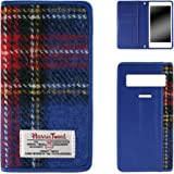 VEGA PTL21 ベガ スマホケース 手帳型 ケース 手帳 カバー スマホカバー ベルト無 ハリスツイード ブルー WHITENUTS TC-D0150155/M
