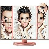FASCINATE Espejo de maquillaje con luz