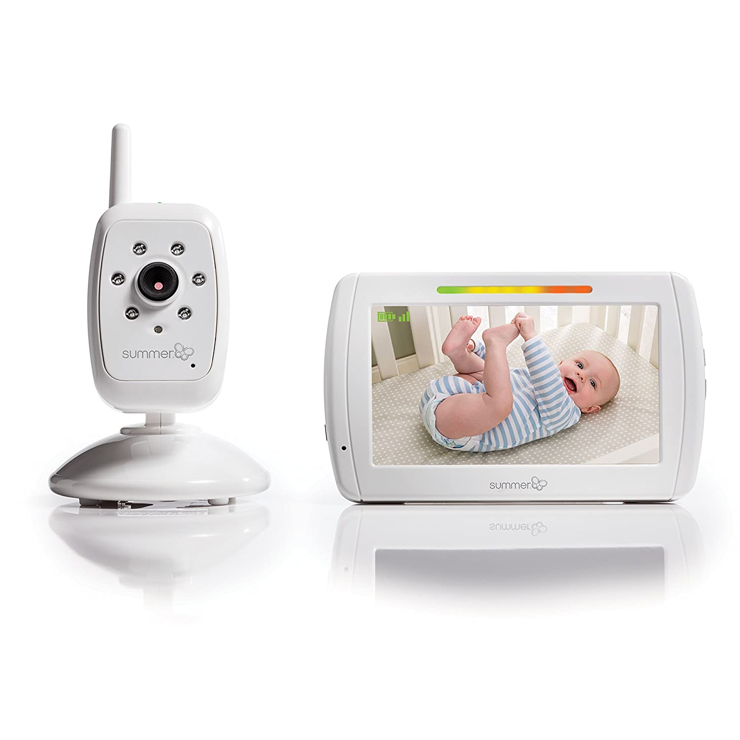 summer infant in view digital color video baby monitor. Black Bedroom Furniture Sets. Home Design Ideas